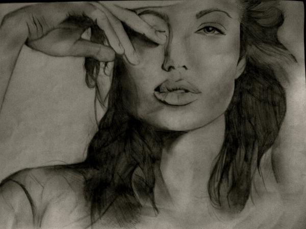 Angelina Jolie by JLM23